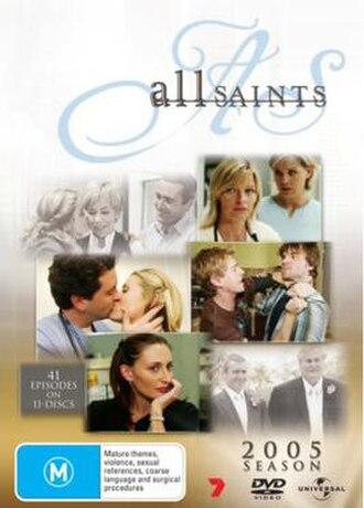 All Saints (season 8) - 2005 Season DVD