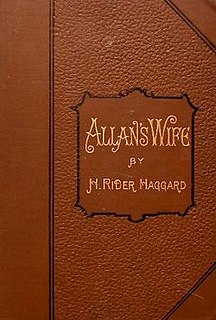 <i>Allans Wife and Other Tales</i> book by Henry Rider Haggard