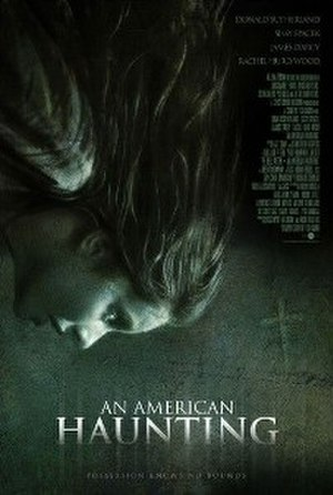 An American Haunting - Theatrical release poster