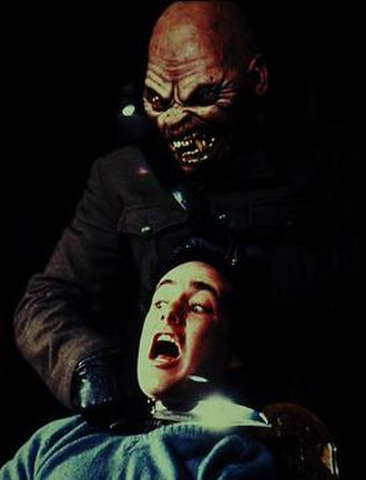 An American Werewolf in London - A production still of one of the nightmare sequences in the film.