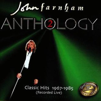 Anthology 2: Classic Hits 1967–1985 (Recorded Live) - Image: Anthology, Vol. 2 Classic Live Hits 1967 1985