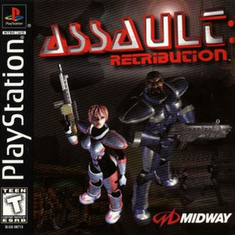 Assault: Retribution - North American cover art
