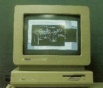 Idris (operating system) - Image: Atari Idris X Windows 1