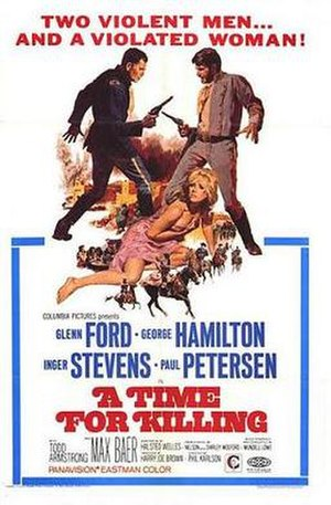 A Time for Killing - Theatrical release poster