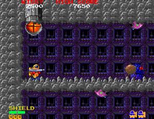 Baraduke - Arcade screenshot