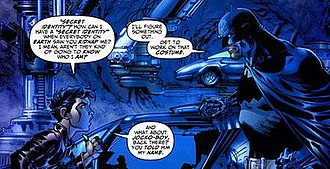 Alternative versions of Robin - In All Star Batman and Robin, in stark contrast to the original timeline, Batman and Dick Grayson are shown at odds from the start, leading to Dick's eventual fall into insanity as depicted in The Dark Knight Strikes Again.