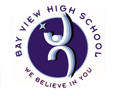 Logo of the Bay View High School