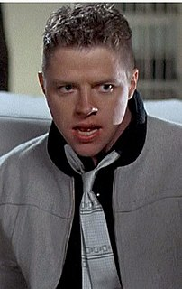 Biff Tannen Fictional character from the American sci-fi film trilogy Back to the Future
