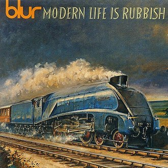 Modern Life Is Rubbish - Image: Blur Modern Life is Rubbish