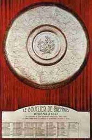 Rugby union trophies and awards - Image: Bouclier de Brennus