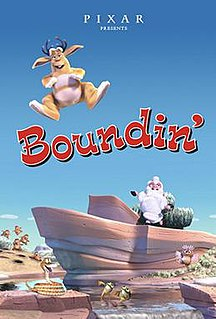 <i>Boundin</i> 2003 animated short film directed by Bud Luckey