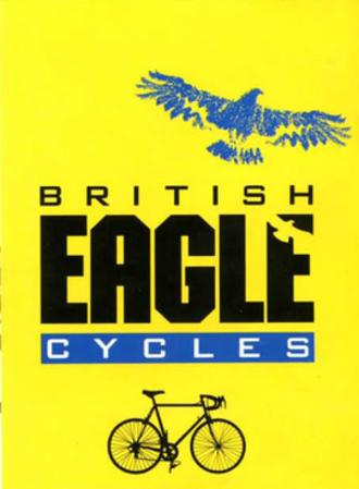 British Eagle (bicycle company) - British Eagle cycle company logo from 1989 catalogue