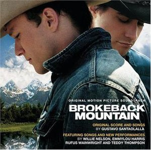 Brokeback Mountain: Original Motion Picture Soundtrack - Image: Brokeback mountain cd