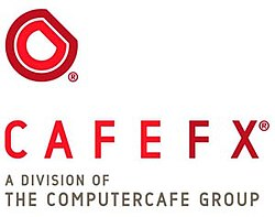 The current cafefx logo