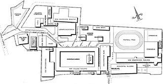 University of Perpetual Help System DALTA - Image: Campusmap