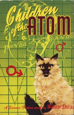 Children of the Atom - Dust-jacket from the first edition