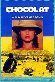 <i>Chocolat</i> (1988 film) 1988 French drama film directed by Claire Denis