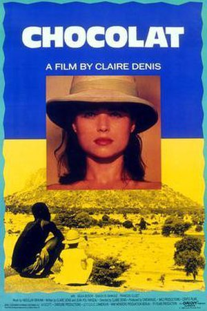 Chocolat (1988 film) - English-language film poster