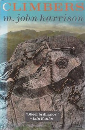 Climbers (novel) - First edition (publ. Gollancz) Cover art by Peter Maynard