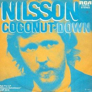 Coconut (song) - Image: Coconut Nilsson