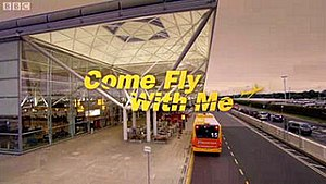 Come Fly with Me (2010 TV series) - Title card