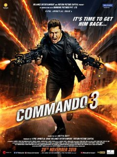 <i>Commando 3</i> (film) 2019 film directed by Aditya Datt