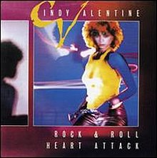 Album art for Cindy Valentine's Rock and Roll Heart