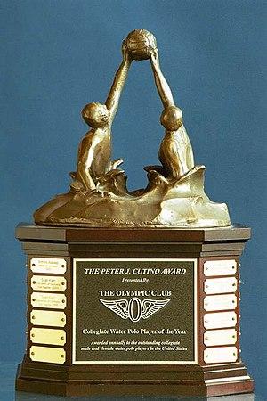 History of water polo - Peter J. Cutino Award