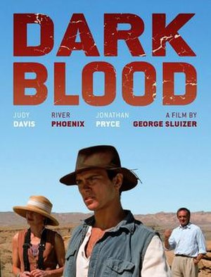 Dark Blood - Theatrical release poster
