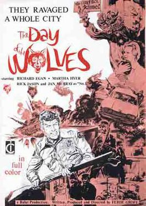 The Day of the Wolves - European poster