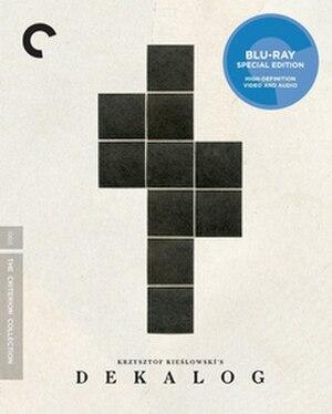 Dekalog - Blu-ray box set cover