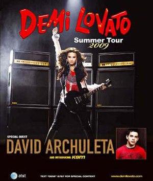 Demi Lovato: Live in Concert - Image: Demi lovato live in concert