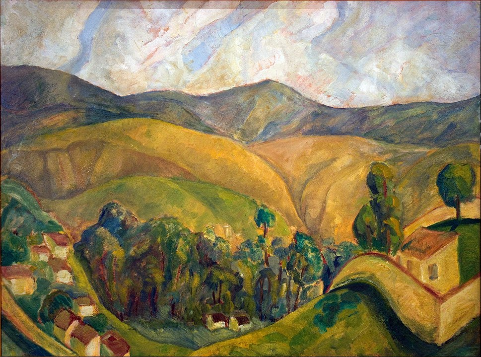 Diego Rivera - Landscape - Google Art Project