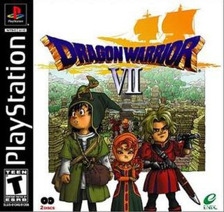 <i>Dragon Quest VII</i> role-playing video game