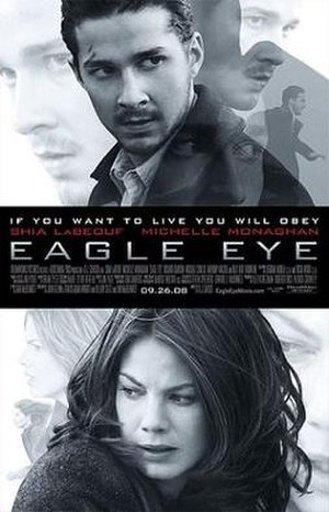 Eagle Eye - Theatrical release poster