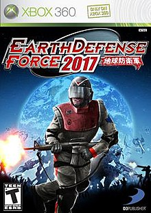 Earth Defense Force 2017