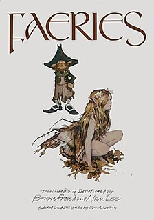 <i>Faeries</i> (book) 1978 book by Brian Froud and Alan Lee