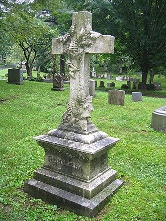 Fanny Fern - Fanny Fern's grave