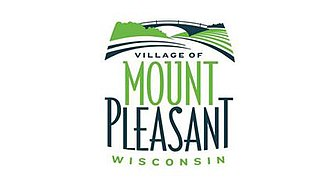 Mount Pleasant, Wisconsin - Image: Flag of the Village of Mount Pleasant, Wisconsin
