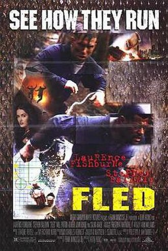 Fled - Theatrical release poster