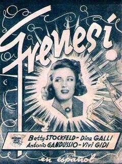 <i>Frenzy</i> (1939 film) 1939 film by Mario Bonnard