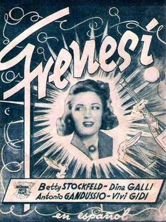 Frenzy (1939 film) - Spanish poster