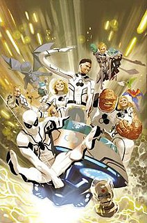 Future Foundation Group of fictional characters from the Marvel Universe
