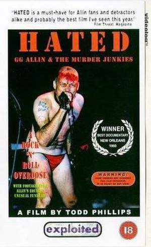 Hated: GG Allin and the Murder Junkies - Image: GG Allin Hated