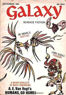 Galaxy Science Fiction, September 1969 cover