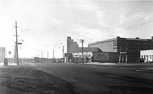 Garneau Theatre - Image: Garneau Theatre Exterior, 1940