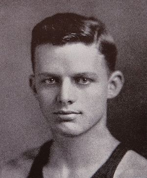 George Haggarty - Haggarty from the 1925 Michiganensian
