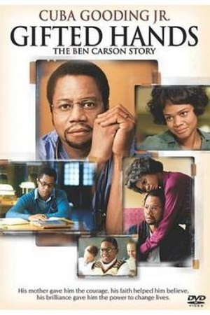 Gifted Hands: The Ben Carson Story - DVD cover