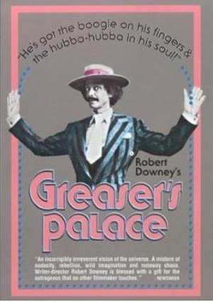 Greaser's Palace - DVD cover