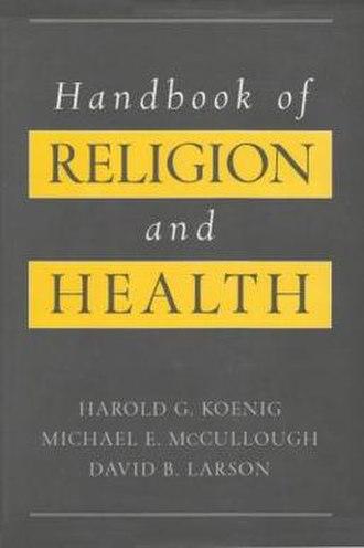 Handbook of Religion and Health - Image: Handbook Relig Health cover